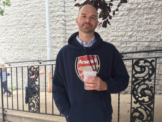 Michael Wozniak said the papal visit has been great for his favorite bar.  The Pub on Passyunk, where Wozniak is a regular, hosted an East Passyunk block party both Saturday and Sunday.