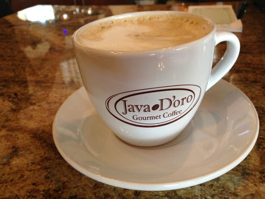 A cappuccino from Java House in Fort Myers.