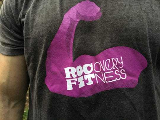 Logo for ROCovery Fitness, which uses physical activity