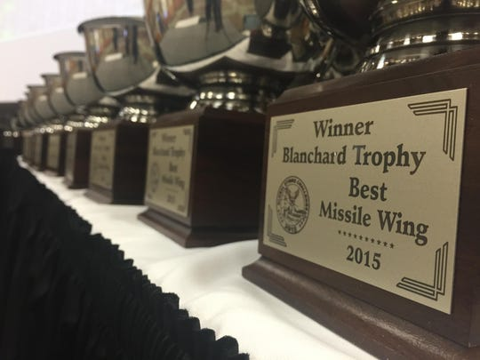 All Malmstrom competitors in the Global Strike Challenge received a trophy for their efforts in bringing the Blanchard Trophy back to Malmstrom for the first time since 2008.