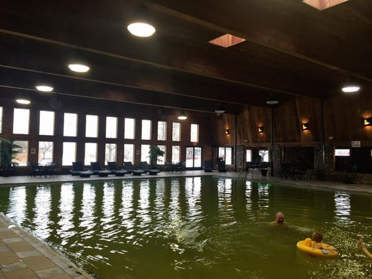 A soak in the Sleeping Buffalo Hot Springs near Saco is a great way to stretch muscles stiff from a car ride.