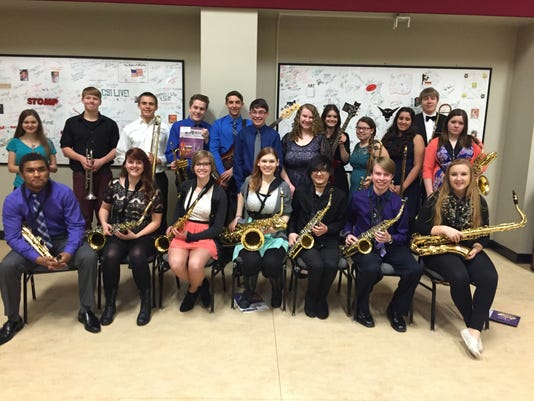 Two Rivers High School Jazz Band
