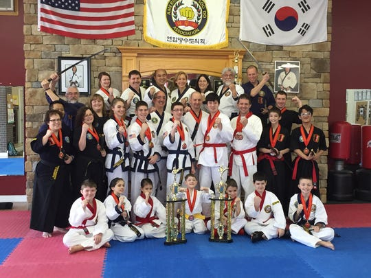 Several Southern Tier Martial Arts students took home medals at the 41st Annual American Tang Soo Do Association Championship tournament last March in Andover, Mass.