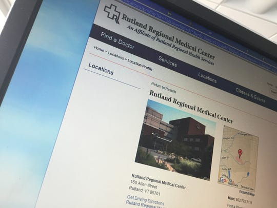 Rutland Regional Medical Center declined to comment