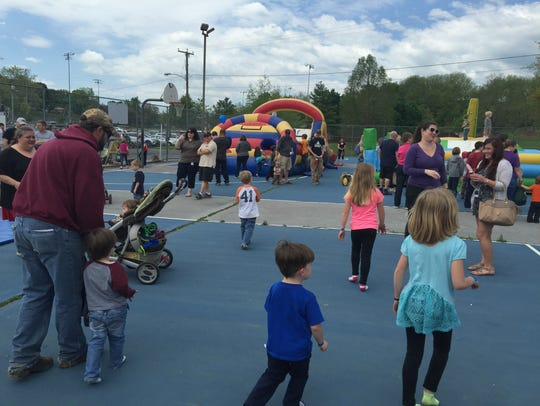 Kids Matter Day on Saturday drew a large crowd as people