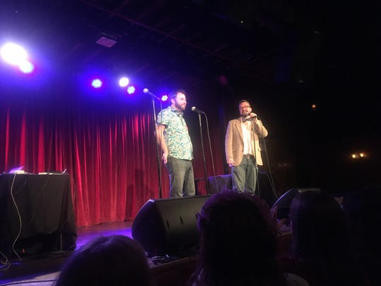 """Welcome to Night Vale"" creators Joseph Fink (left)"