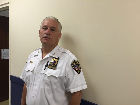 Eastchester Police Chief Timothy Bonci