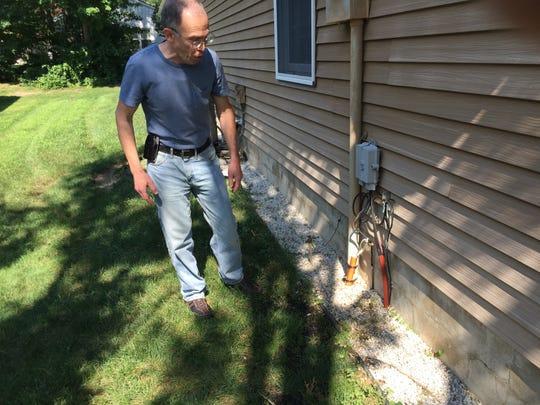 A Verizon contractor accidentally ran conduit to the