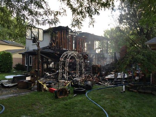 cnt fire destroys house