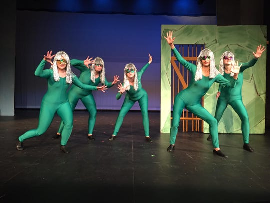 """The """"frog chorus"""" is an important part of Aristophanes'"""