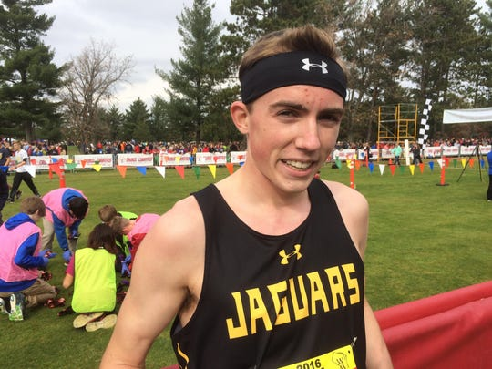 Ashwaubenon senior Tannor Wagner placed sixth in Division 1 at the WIAA state cross-country meet Saturday at The Ridges Golf Course in Wisconsin Rapids.