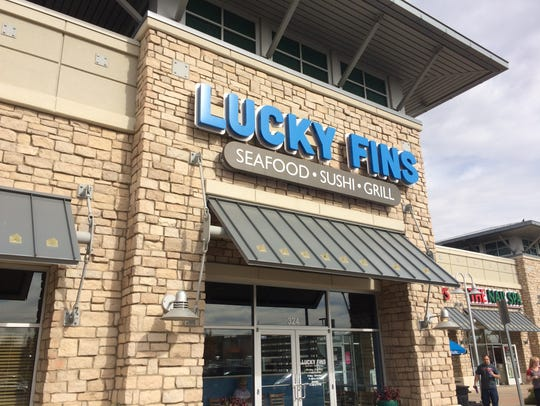 Lucky Fins in Greeley is a popular rated restaurant.