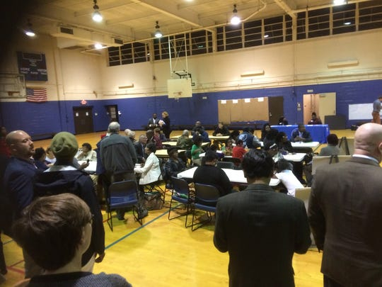 The city kicked off a series of rallies for the Memphis 3.0 comprehensive plan with a meeting Monday in the Ed Rice Community Center gym in Frayser.