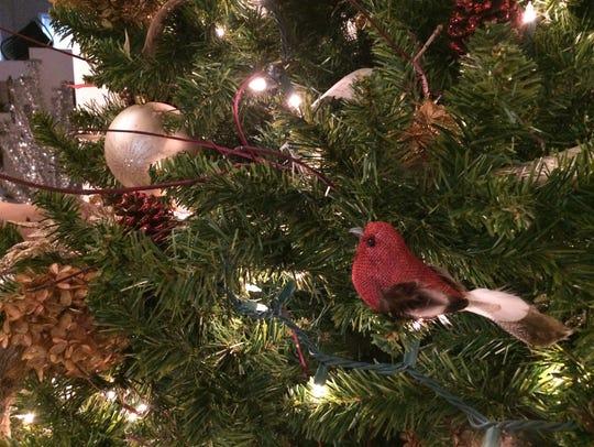 A Christmas tree from the 2016 Christmas Tree Walk