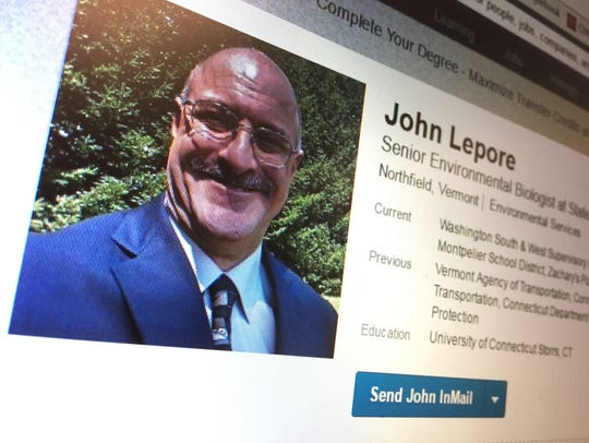 John Lepore of Northfield, seen in this public photo