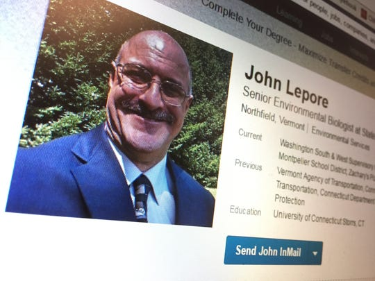 John Lepore of Northfield, seen in this public photo on his LinkedIn page, served on the Donald Fell jury in 2005.