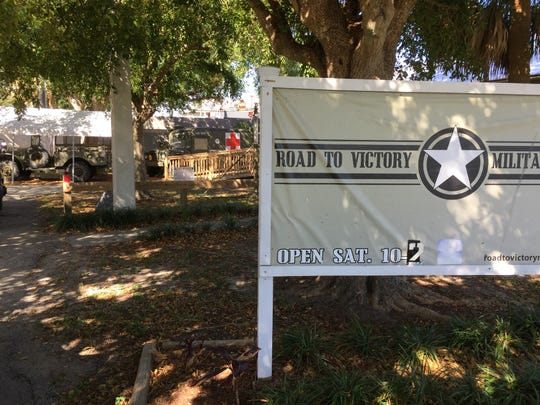The Road to Victory Military Museum is located behind Stuart's Memorial Park.