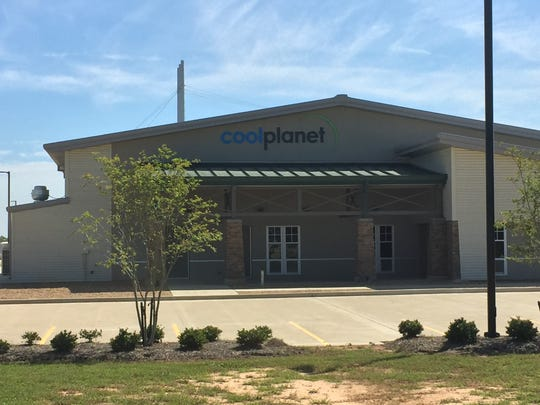 Cool Planet's production facility at the Central Louisiana Regional Port.