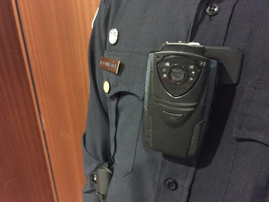 Rochester Police Department body-worn camera
