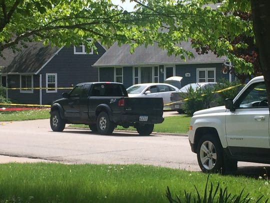 A man was found shot to death Monday, May 8, 2017,
