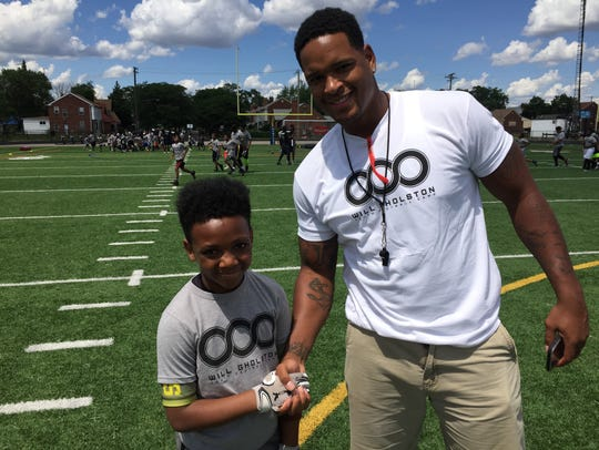 Detroit native and former Michigan State football standout