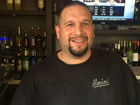 Dan DiRienzo, owner of Amici Pub & Pizzeria across