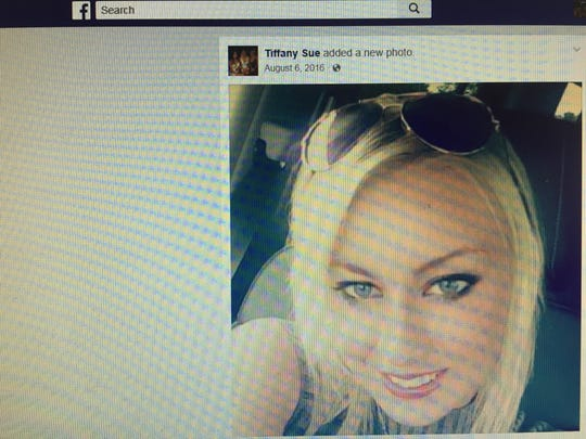 A photo of Tiffany Fleming, uploaded to her Facebook