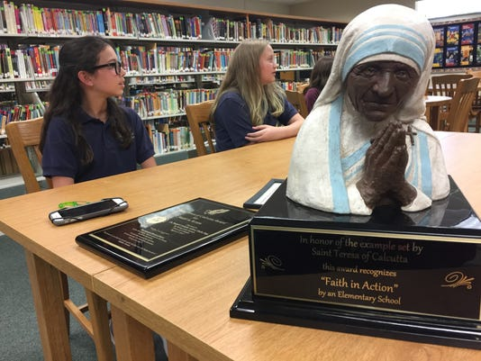St. Joseph's Catholic School wins award