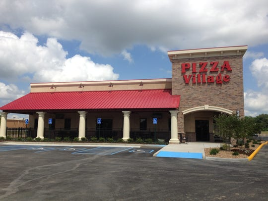 The Kaliste Saloom Road location of Pizza Village.