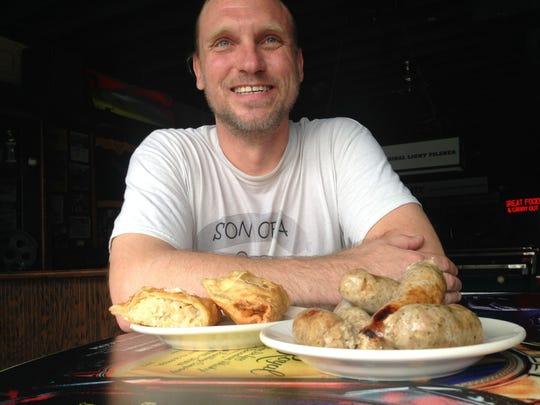 Gary Szymczak makes fresh, unsmoked Polish sausage