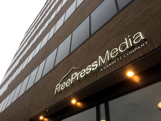 The Free Press Media and Burlington Free Press offices