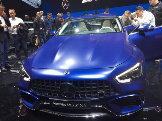 Mercedes-AMG unveiled the 630-horsepower GT