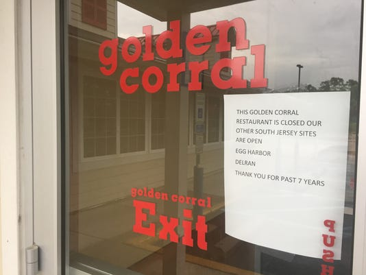 Golden Corral Vineland closes