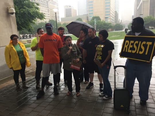 Labor organizers, construction workers and Metro Nashville