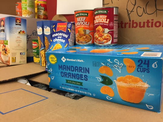 The Windsor Knight Pack provides food for students