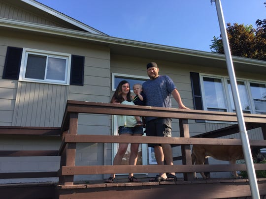 Jackie and Mike Grant traded up to a home in Norwich