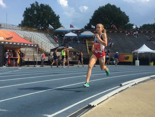 Katelyn Tuohy ran a U.S. girls high school national