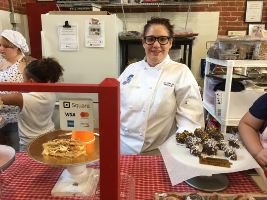 Erin Leiss opened Baked, a fully made-from-scratch bakery, in the Lebanon Farmers Market on June 14, 2018.