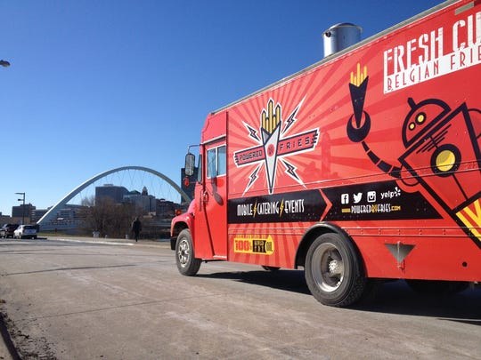The Powered by Fries truck will offer Belgian fries.
