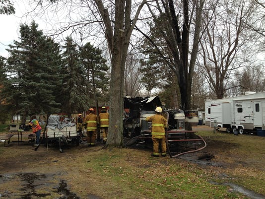 No injuries in fire at Sauk Rapids mobile home park