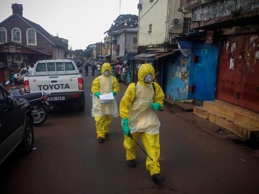 EPA SIERRA LEONE HEALTH EBOLA HTH DISEASES SLE