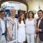 A BON VOYAGE theatre production-themed farewell party was hosted in the beautiful home of Barrie and Laura Harmon, designed by architect Greg Tankersley 25 years ago.