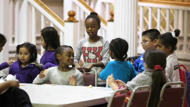 Children at the after-school program at the Nyack Center. The Legacy Gala on Nov. 5, will benefit Nyack Center programs and Legacy Fund.
