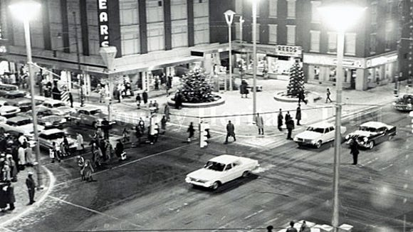 York Square, December 1963  (Gazette and Daily photo)