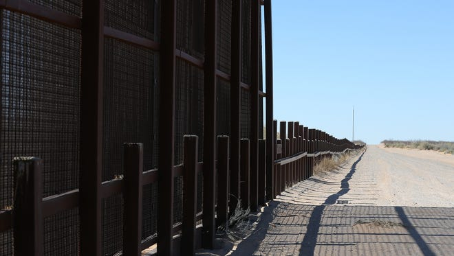 The border wall will continue west of the Santa Teresa Port of Entry, replacing the vehicle barrier that already is in place.