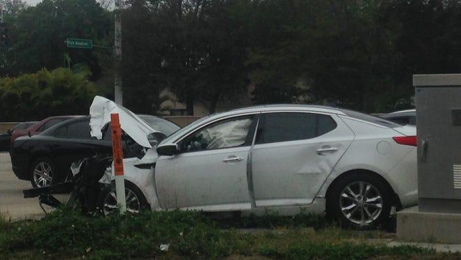 Crash on Summerlin Rd.