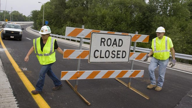 Before dawn Tuesday, drivers will see a change as I-71 traffic exits to I-64 West.