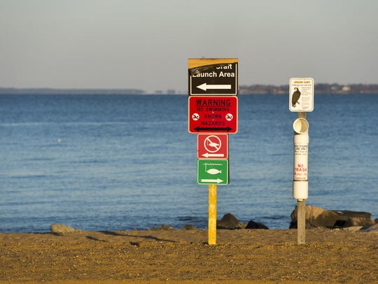 A swimming advisory is now in effect for the beach