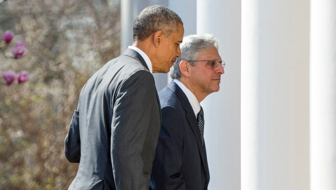 President Obama nominates Judge Merrick Garland on March 16, 2016.