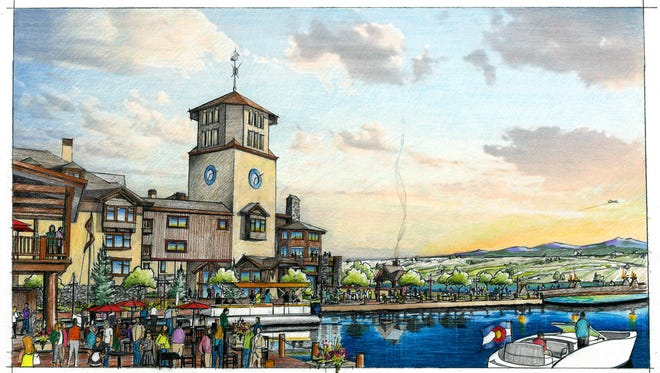Shown is a rendering of the proposed The PeliGrande Resort in Windsor.